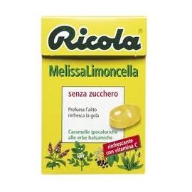 CARAMELLE SVIZZERE ALLE ERBE RICOLA MELISSA LIMONCELLA GRAMMI 50