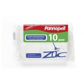 PANNO CATTURAPOLVERE PANNOPEL ZAC FORMATO UNIVERSALE cm.22xcm.30 PEZZI 10