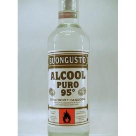 ALCOOL PURO BUONGUSTO 95° LITRI 1