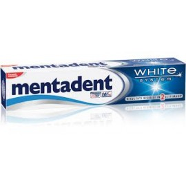 DENTIFRICIO MENTADENT WHITE SYSTEM ML.75