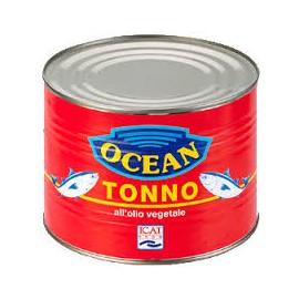 Tonno all'olio vegetale Ocean 1705 grammi
