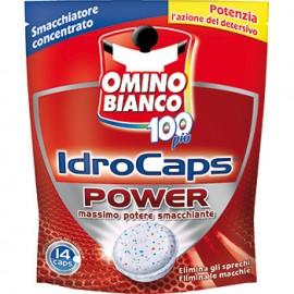 ADDITIVO SMACCHIATORE CONCENTRATO OMINO BIANCO 100 PIU' IDRO CAPS POWER GRAMMI 280 CAPS 14