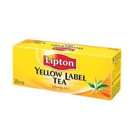 YELLOW LABEL TEA LIPTON FILTRI 25