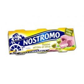 TONNO ALL'OLIO DI OLIVA NOSTROMO GRAMMI 80X3