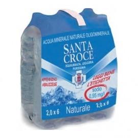 ACQUA NATURALE SANTA CROCE 6 X 2 LITRI