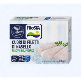 CUORI DI FILETTO DI NASELLO FROSTA GRAMMI 300