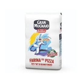 """FARINA PER PIZZA  """"00"""" GRAN MUGNAIO SPADONI KG. 1"""