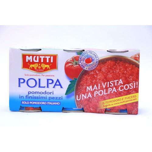 POLPA DI POMODORO MUTTI GRAMMI 400X3
