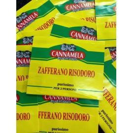 ZAFFERANO PURISSIMO RISODORO CANNAMELA GRAMMI 0,10
