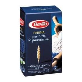 """FARINA DI GRANO TENERO """"00"""" BARILLA KG. 1"""