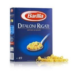 DITALONI RIGATI BARILLA GRAMMI 500
