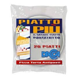 PIATTI DACCA PIZZA,TORTA ANTIPASTI PEZZI 20