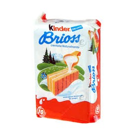 KINDER BRIOSS CON LATTE GRAMMI 280 PEZZI 10