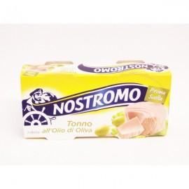 TONNO ALL'OLIO DI OLIVA NOSTROMO GRAMMI 160X2
