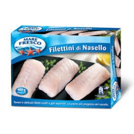 FILETTINI DI NASELLO MARE FRESCO GRAMMI 400